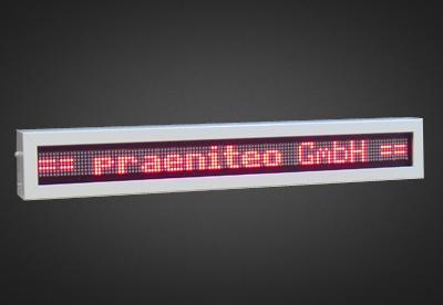 Einzeilige LED Laufschrift für den Innenbereich PFLI7-120-4R_OG