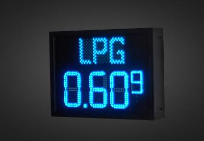 LED Benzinpreisanzeigen PNO1-4-17B_LPG