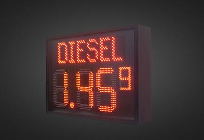 LED Benzinpreisanzeigen PNO1-4-28R_DIESEL