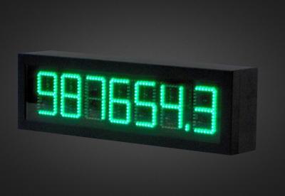 LED Counter PNI1-7-10G