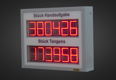 LED Counter PNO2-12-10R_KE
