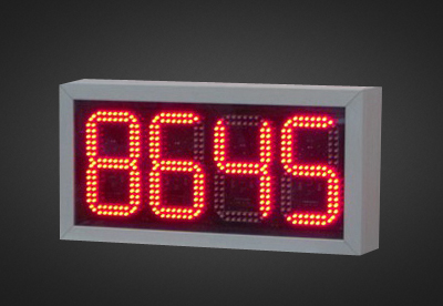 LED Counter PNO2-8-17R_W