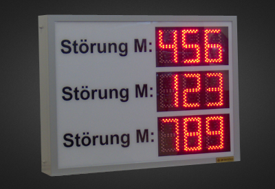 LED Infosysteme PNO3-9-14R