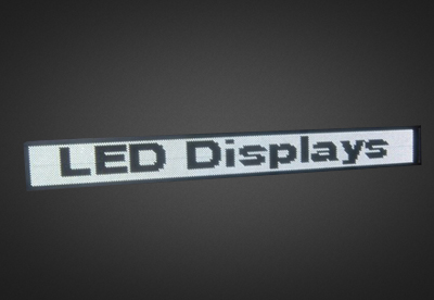 Mehrzeilige LED Laufschrift für den Außenbereich PELO16-176-6W