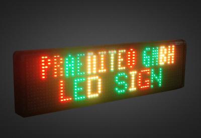 Mehrzeilige LED Laufschrift für den Außenbereich PELO16-X-8
