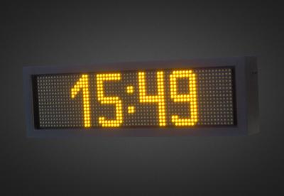 Uhren- und Temperaturanzeigen PTC16-64-6A