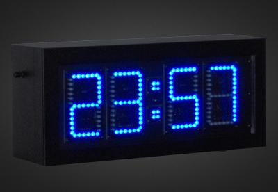 Uhren- und Temperaturanzeigen PTO1-4-10B