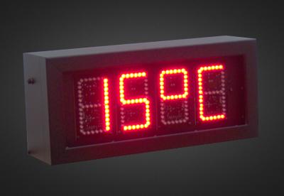 Uhren- und Temperaturanzeigen PTO1-4-10R