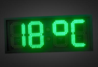Uhren- und Temperaturanzeigen PTO1-4-28G