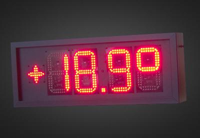 LED Uhren und Temperaturanzeigen