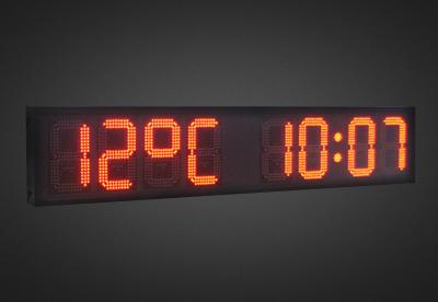 Uhren- und Temperaturanzeigen PTO1-8-28R